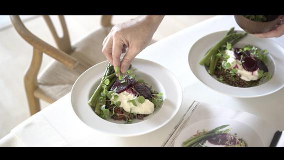 thumbnail for Tashas Labne Lentil Salad