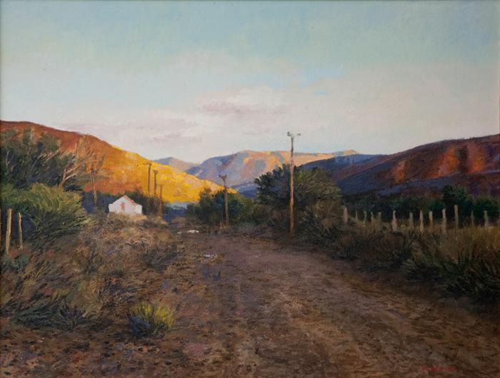 Prince Albert landscape  - SOLD