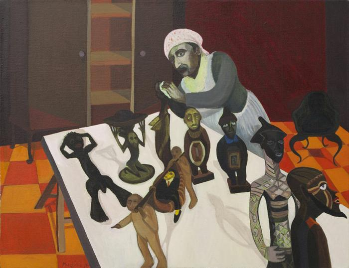 Johans Borman Fine Art Contemporary Artists Mudariki Richard