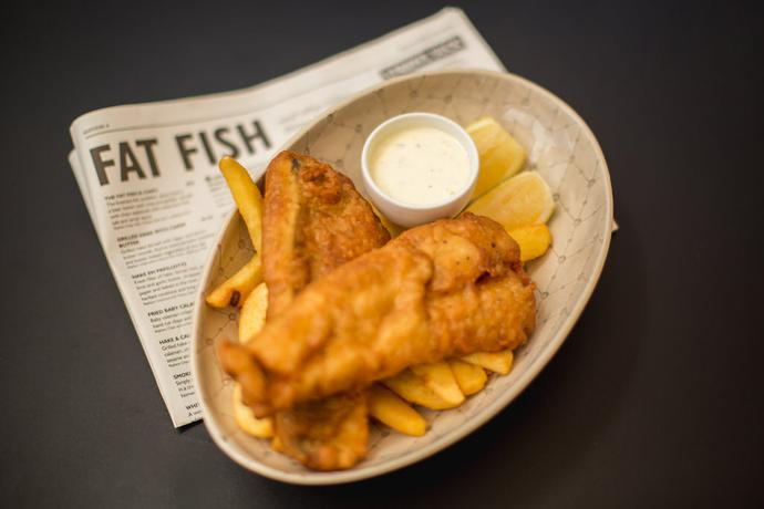 Fish and Chips Food Photography in the Garden Route of South Africa