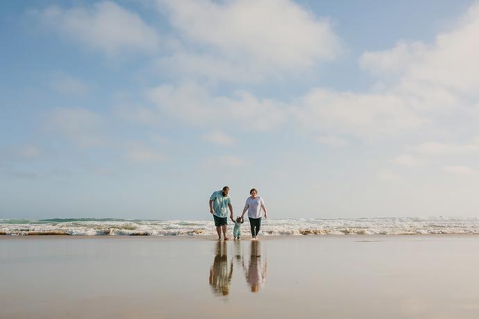 Wilderness Beach Family Shoot - Trevor Family