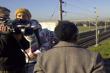 With railway tracks below, Sindiwe pondered the possibly of ending it all, then leapt back into LIFE