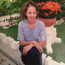 Vanessa annual prison photo.