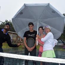 Thumbnail for RAIN, THE WINNER AT INTERNATIONAL JUNIOR TENNIS EVENT IN POTCHEFSTROOM