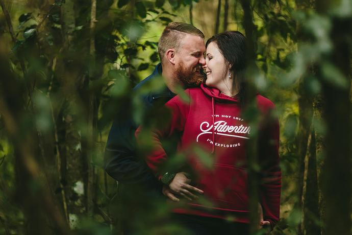 Knysna Forest Couple Portraits - Johan & Sunelle
