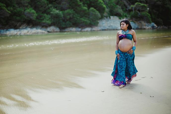 Garden Route Maternity Shoot - Pillay Family