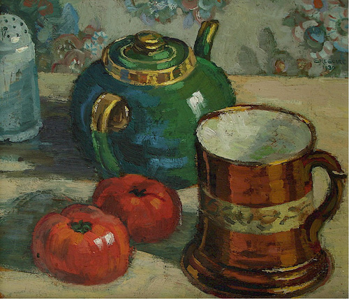 Still life with teapot - SOLD