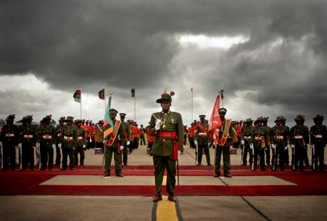 thumbnail for The Presidential Guard, Lusaka, Zambia.
