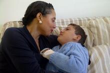 Marlene and her son Adam