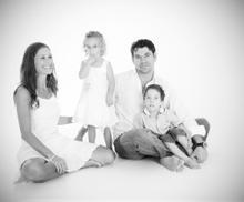 Tanya, Maya, Henk and Luca