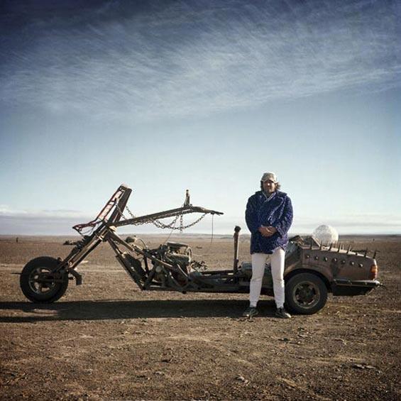 Robert   Department of Mutant Vehicles   AfricaBurn   Karoo