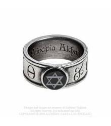R229 Principia Alchemystica ring