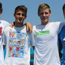 Thumbnail for SOUTH AFRICAN JUNIOR DAVIS CUP TEAM JETTING OFF TO THE WORLD JUNIOR DAVIS CUP by BNP PARIBAS FINAL