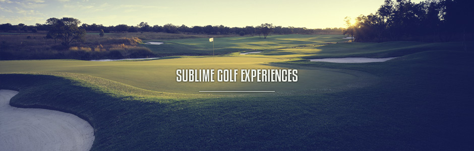 Sublime Golf Experiences