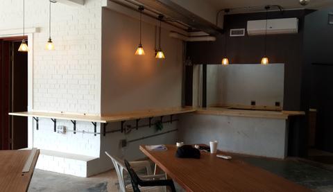 The Green Door - Laptop & Kitchen Counter