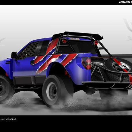 thumbnail for Blur Racing Vehicle Design