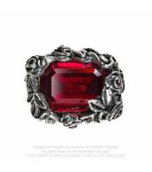 R227 Blood Rose ring
