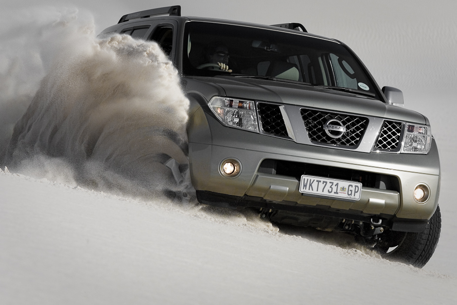 Nissan Pathfinder shoot