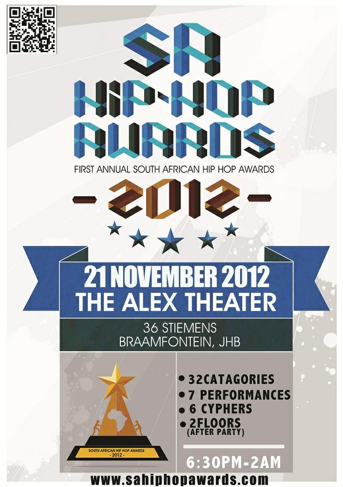 EVENT \\\ SA Hip Hop Awards 2012 - Graffiti South Africa