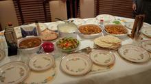Dinner at Maduri's