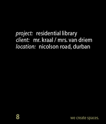 Thumbnail for nicolson road - library space