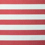 Twill Stripe - Red