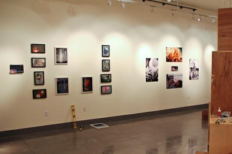 Slowly but surely everything comes together for the opening reception.