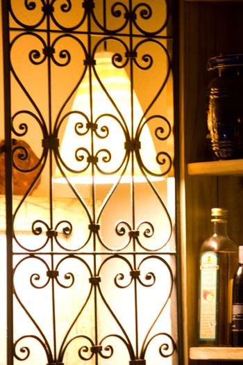 Cupboard door grill (DETAIL)