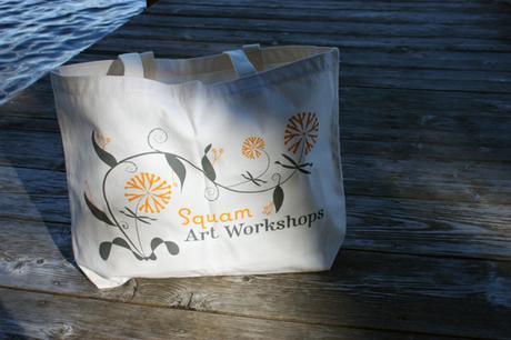 thumbnail for Bag for Squam Art Workshops 2008