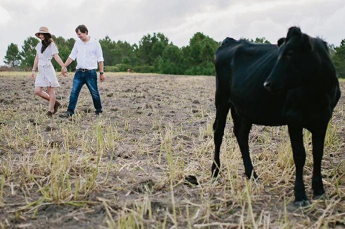 Farm Couple Portraits - Leon & Venoesjka