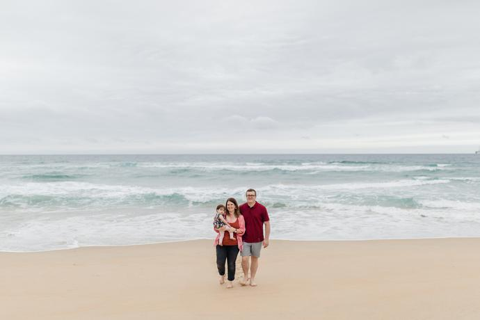 Family Beach Photo Shoot in George South AFrica