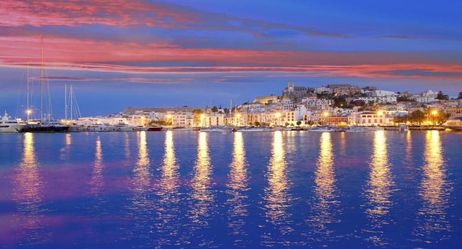 Yacht in Ibiza