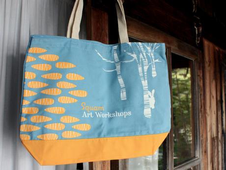 thumbnail for Bag for Squam Art Workshops 2011