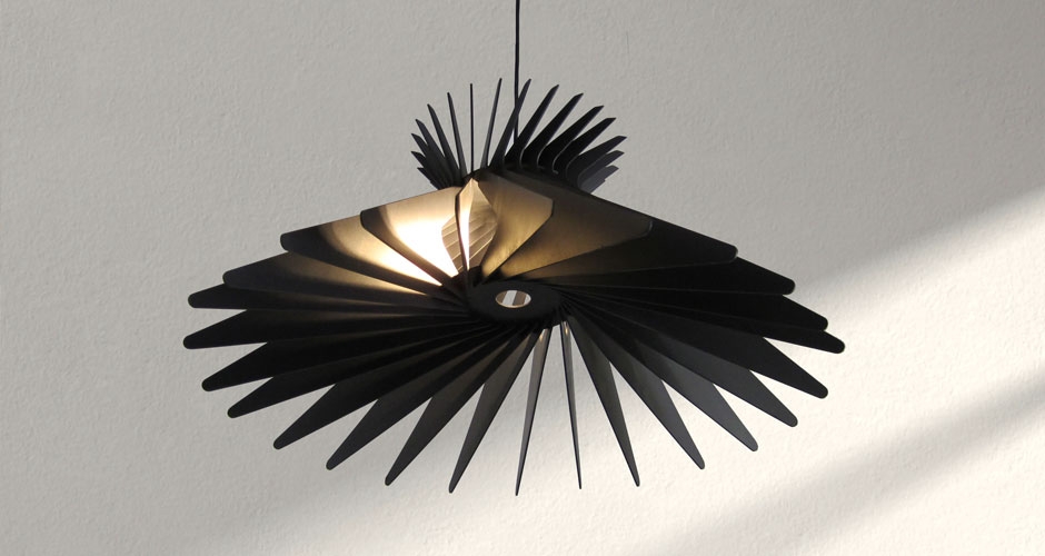 Spline Pendant Light