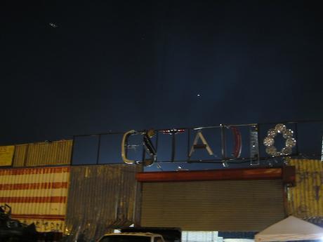 Mad Max Stadium lit for night play