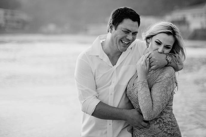 Herolds Bay Beach Portraits - Willie & Rozahn