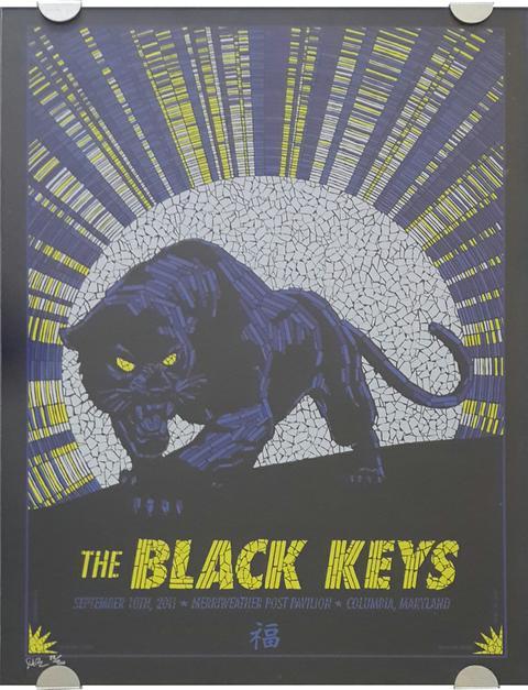 Black Keys - Block Mount