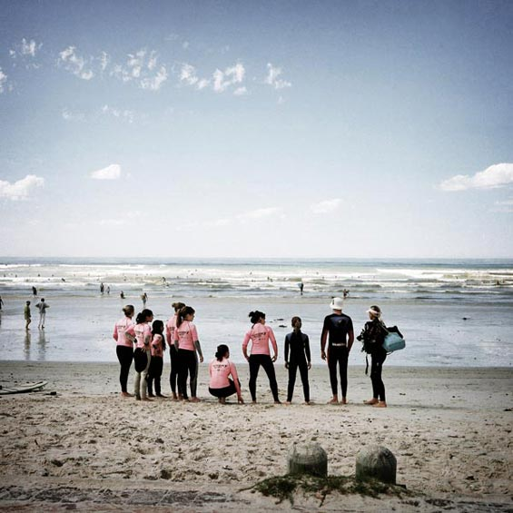 Muizenberg Beach   False Bay   Cape Peninsula   South Africa