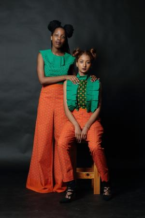 Kagiso and Denique dressed and styled by Lineo Matsupha XI