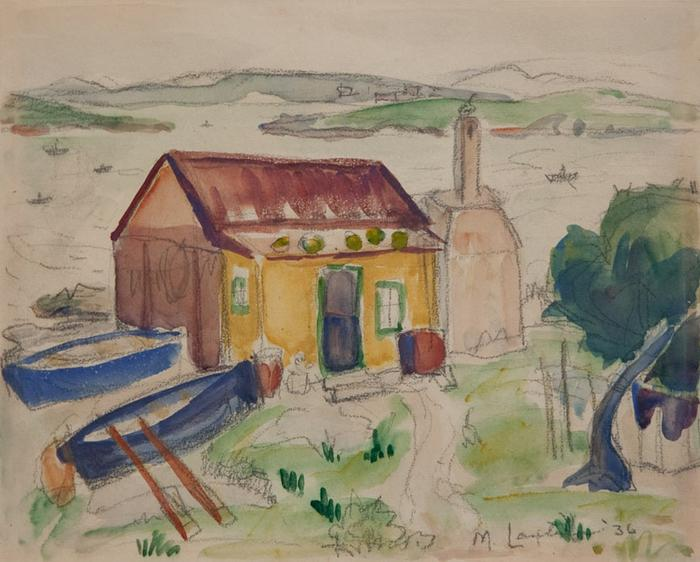 Fisherman's cottage with boats - SOLD
