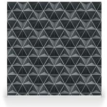 Hexagons - Charcoal