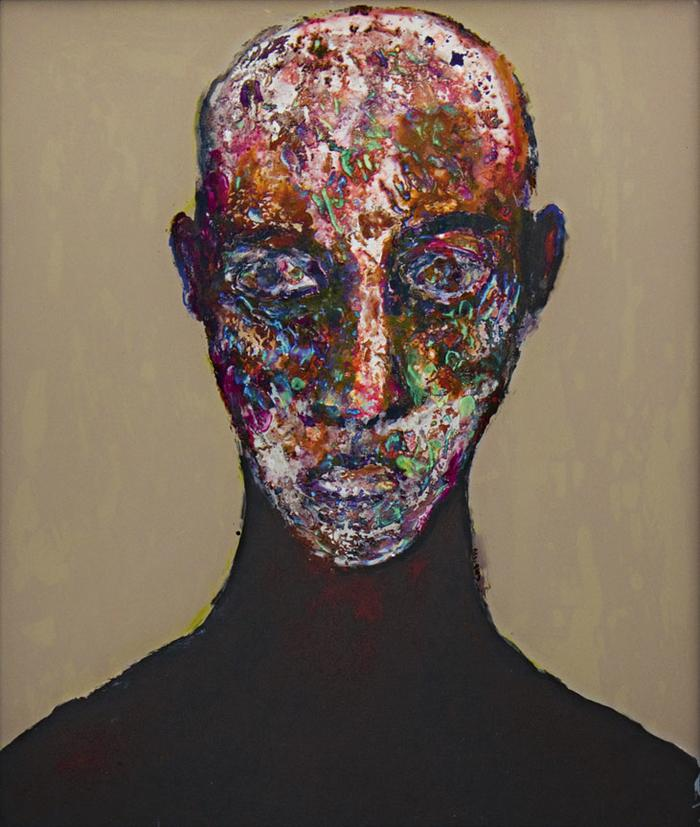 Gail Catlin:  Head of a woman - SOLD