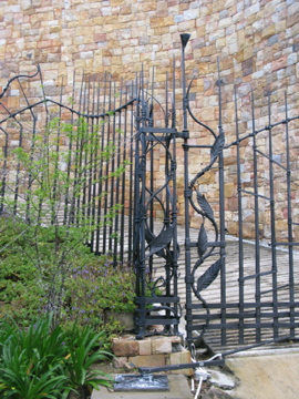 Private commission: Gate, Clifton, South Africa