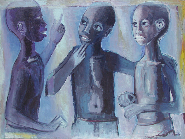 Three boys - SOLD