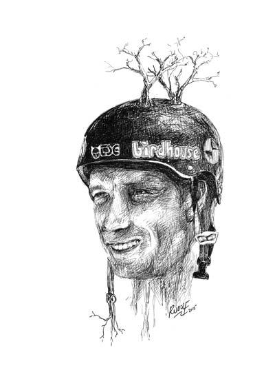 Tony Hawk - Skateboarder
