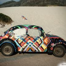 thumbnail for Street Art VW Beetle by Miguel Lomott (Germany) and Mymo (Germany)