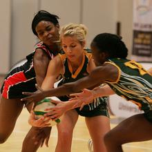 Thumbnail for SA GO DOWN FIGHTING IN UNIVERSITY NETBALL FINAL