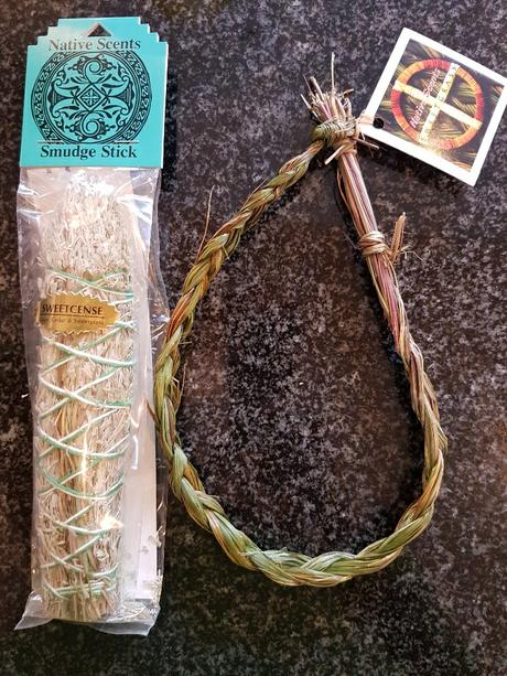 Sweetcense - R240, Sweetgrass braid - R125