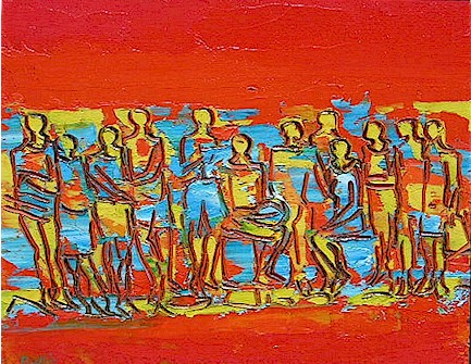 The gathering - SOLD