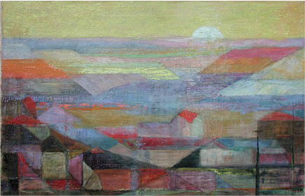 Mine dumps at sunrise - SOLD